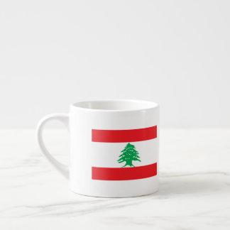 De Vlag van Libanon Espresso Kop