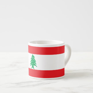 De Vlag van Libanon Espresso Kopjes