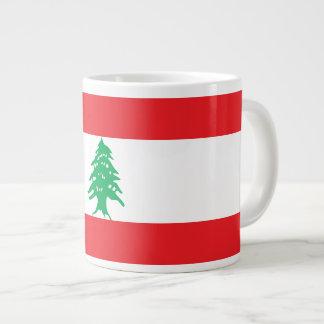 De Vlag van Libanon Jumbo Beker