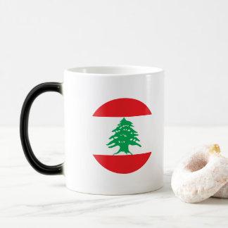 De Vlag van Libanon Magische Mok