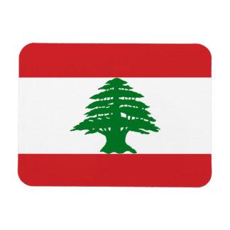 De Vlag van Libanon Magneet