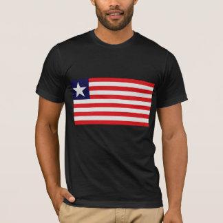 De Vlag van Liberia T Shirt
