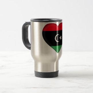 De Vlag van Libië Reisbeker
