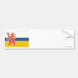 De Vlag van Limburg Bumpersticker