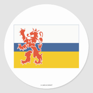 De Vlag van Limburg Ronde Stickers