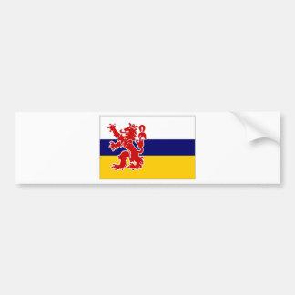 De Vlag van Limburg van het Nederland Bumpersticker