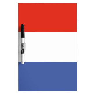 De vlag van Luxemburg Whiteboards
