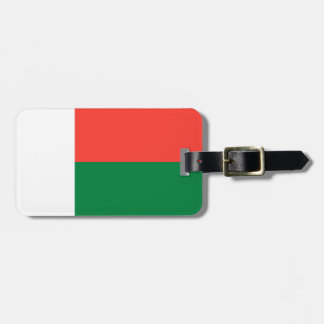 De Vlag van Madagascar Kofferlabel