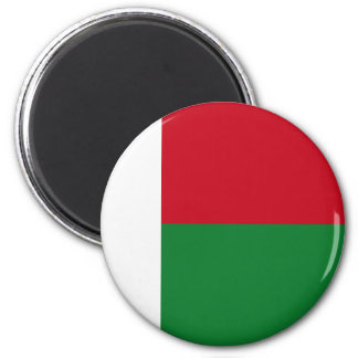 De vlag van Madagascar Magneet