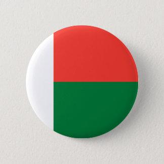 De Vlag van Madagascar Ronde Button 5,7 Cm