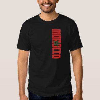 De Vlag van Marokko T Shirts