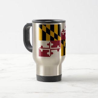 De Vlag van Maryland Reisbeker