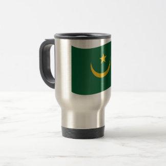 De Vlag van Mauretanië Reisbeker
