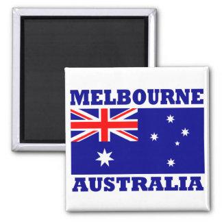 De Vlag van Melbourne Australië Magneet