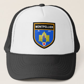 De Vlag van Montpellier Trucker Pet