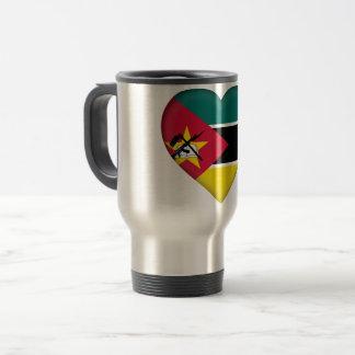De Vlag van Mozambique Reisbeker