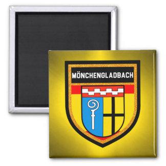 De Vlag van München-Gladbach Vierkante Magneet
