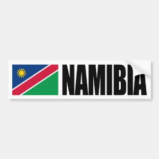 De Vlag van Namibië Bumpersticker