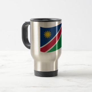 De Vlag van Namibië Reisbeker