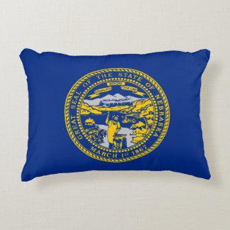 De Vlag van Nebraska Accent Kussen