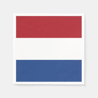 De Vlag van Nederland Papieren Servetten