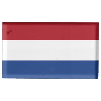 De Vlag van Nederland Tafelnummer Houder