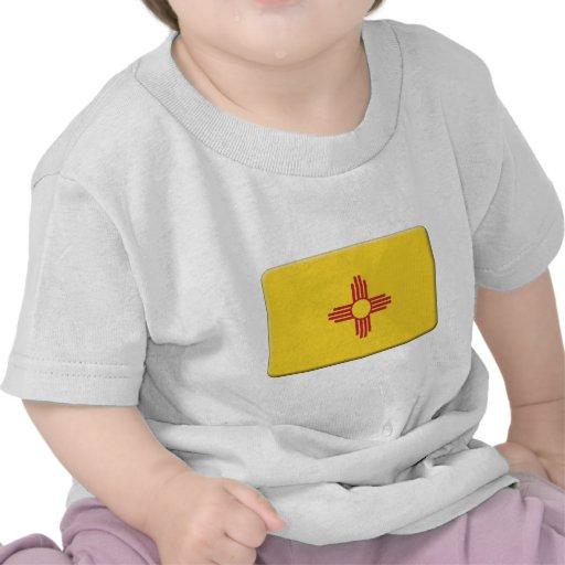 De Vlag van New Mexico PERSONALISEERT T-shirt