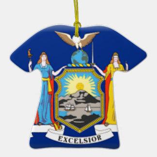 De Vlag van New York Ornamenten