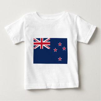 de vlag van Nieuw Zeeland Baby T Shirts