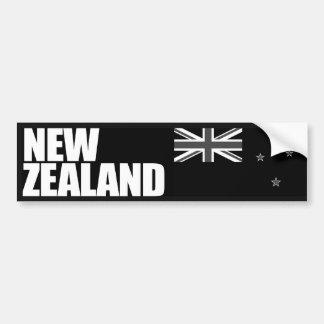 De Vlag van Nieuw Zeeland Bumpersticker