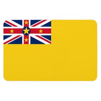 De Vlag van Niue Magneet