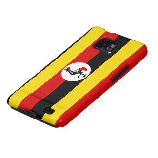 De Vlag van Oeganda Galaxy S2 Hoesje