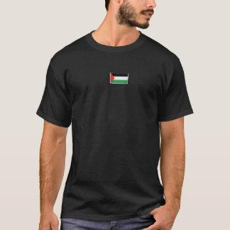 De Vlag van Palestina & 4:75 Qur'an T Shirt