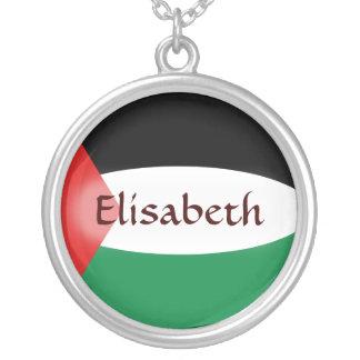 De Vlag van Palestina + Het Ketting van de naam