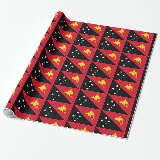 De Vlag van Papoea-Nieuw-Guinea Cadeaupapier