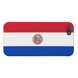 De Vlag van Paraguay iPhone 5 Hoesje