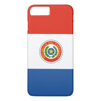 De vlag van Paraguay iPhone 8/7 Plus Hoesje