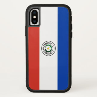 De Vlag van Paraguay iPhone X Hoesje