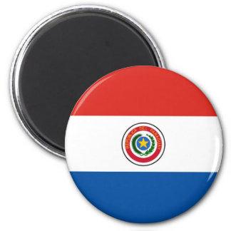 De vlag van Paraguay Koelkast Magneten