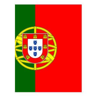 De vlag van Portugal (Bandeira DE Portugal) Briefkaart