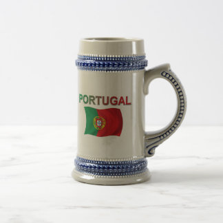 De Vlag van Portugal Bierpul