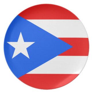 De Vlag van Puerto Rico Bord