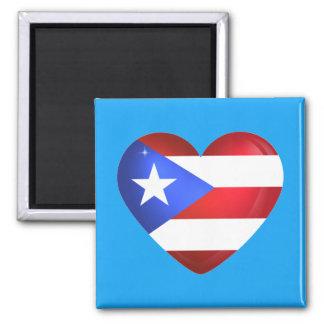 De Vlag van Puerto Rico Magneet