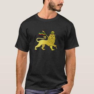 De vlag van Reggae Zion van de leeuw T Shirt