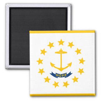 De Vlag van Rhode Island Magneet