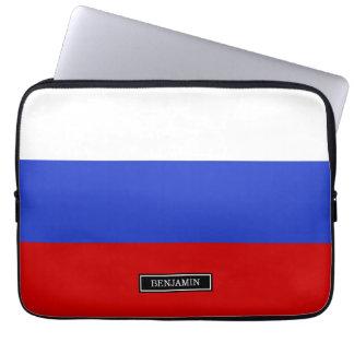De vlag van Rus Computer Sleeve Hoesje