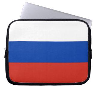 De Vlag van Rusland Laptop Computer Hoesje