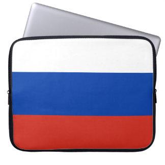 De vlag van Rusland Laptop Sleeve