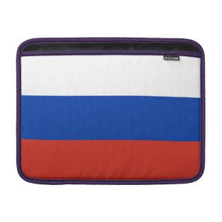 De Vlag van Rusland MacBook Beschermhoes
