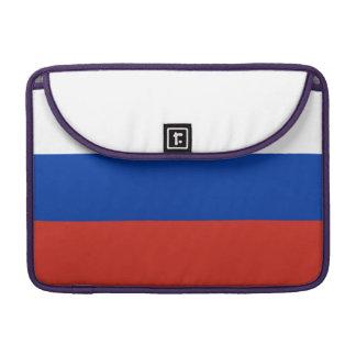 De Vlag van Rusland Sleeves Voor MacBook Pro